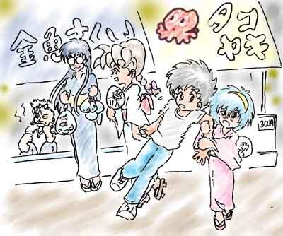 2001年7月(お祭り)